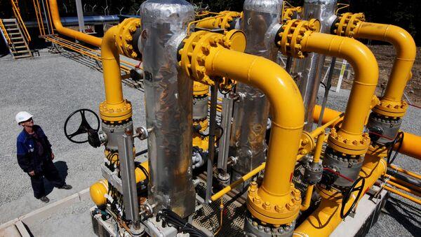 Строительство участка газопровода Сахалин-Хабаровск-Владивосток - Sputnik Южная Осетия