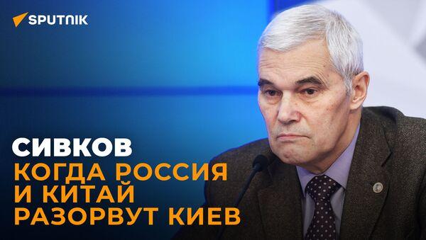 Сивков: Украина идёт в НАТО, Донбасс на грани катастрофы, базы англичан на Черном море - Sputnik Южная Осетия