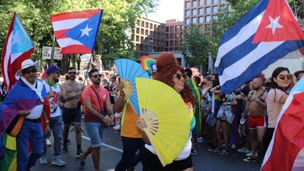 Крупнейший в Европе гей-парад в Мадриде - Sputnik Южная Осетия