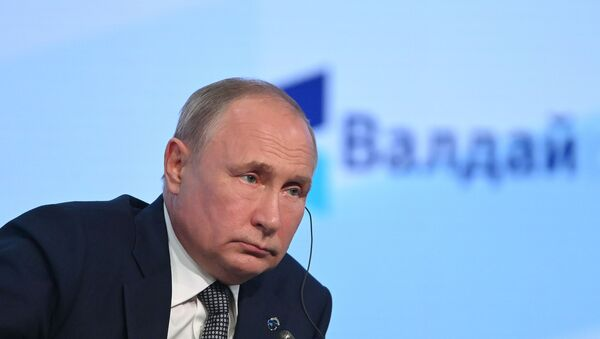 Президент РФ В. Путин принял участие в заседании клуба Валдай - Sputnik Южная Осетия
