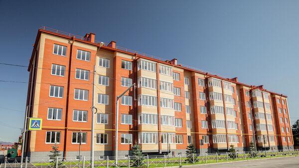 Новый дом на улице Героев - Sputnik Южная Осетия