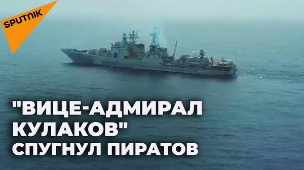 Как российские моряки спасли панамский контейнеровоз от пиратов - Sputnik Южная Осетия