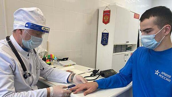 Медики ЮВО в Южной Осетии организовывали мероприятия по обеспечению санитарно-эпидемиологического благополучия населения - Sputnik Южная Осетия