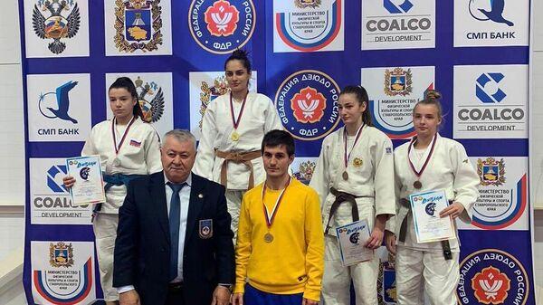 Спортсмены из Северной Осетии успешно выступили на первенстве СКФО по дзюдо - Sputnik Южная Осетия