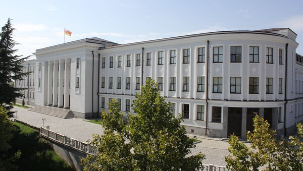 Здание парламента РЮО - Sputnik Южная Осетия