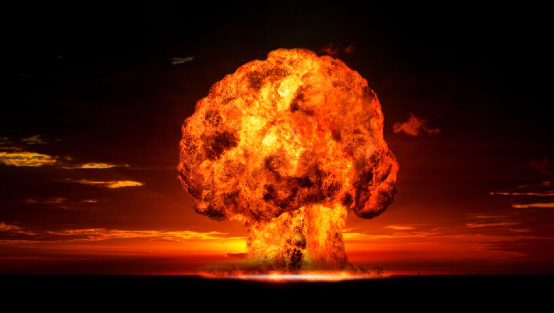 Ядерный взрыв - Sputnik Южная Осетия, 1920, 26.09.2021