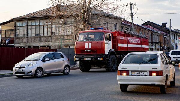 Пожарная машина - Sputnik Южная Осетия