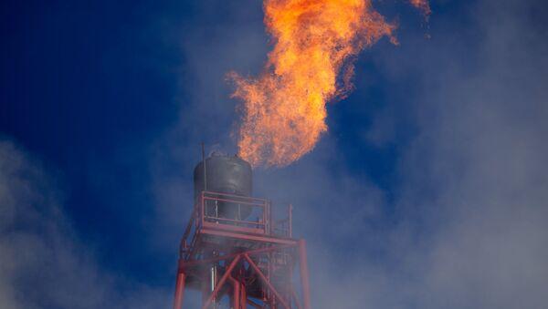 Газовый факел. Архивное фото  - Sputnik Южная Осетия