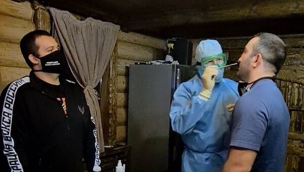 Мурат Гассиев сдал тест на коронавирус - Sputnik Южная Осетия