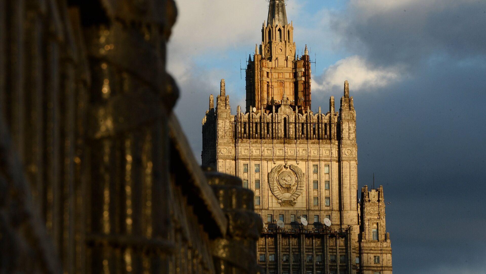 Здание Министерства иностранных дел Российской Федерации - Sputnik Южная Осетия, 1920, 29.09.2021