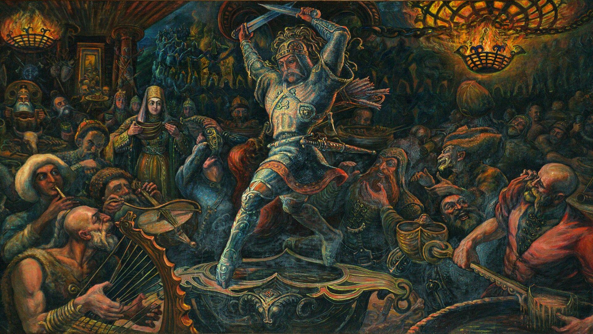 Уӕрӕсейаг специалисттӕ ауадздзысты Цхинвалы лекцитӕ Нарты эпос ӕмӕ фӕсивӕдон проблӕматыл - Sputnik Хуссар Ирыстон, 1920, 12.10.2021