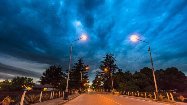 Ночной Цхинвал - Sputnik Южная Осетия