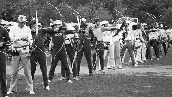 Международные соревнования по стрельбе из лука - Sputnik Южная Осетия