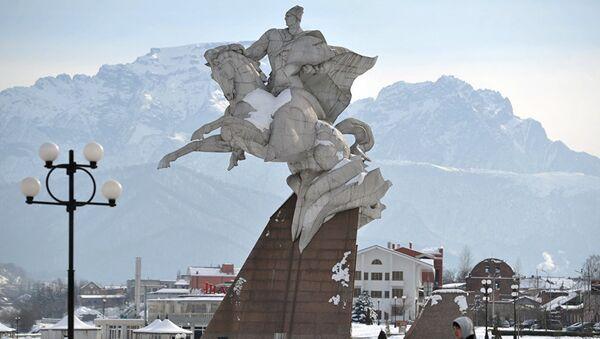 Памятник Иссе Плиеву - Sputnik Южная Осетия