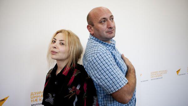 Вика и Гурам - Sputnik Южная Осетия