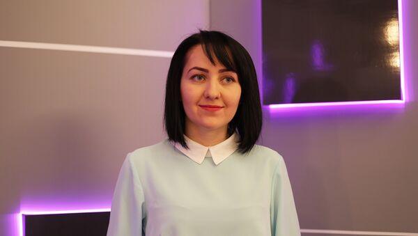 Телеведущая Оксана Елоева - Sputnik Южная Осетия
