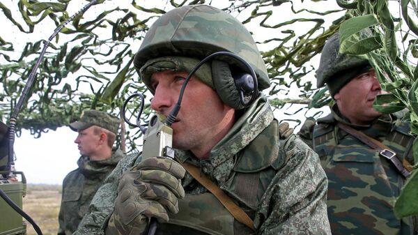 Военные учения на полигоне - Sputnik Южная Осетия