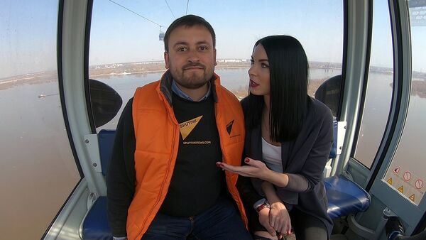 Схватить девушку за коленку, или Как победить страх высоты - Sputnik Южная Осетия