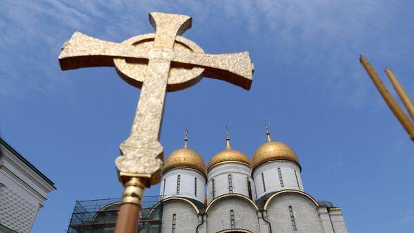 Соборная площадь Московского Кремля. - Sputnik Южная Осетия