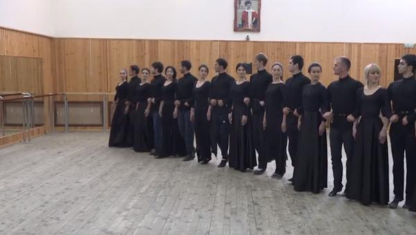 Ансамбль Симд приоткрыл завесу тайны: как репетируют горский танец - видео - Sputnik Южная Осетия