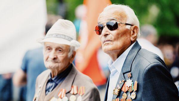 Цхинвал: День Победы - Sputnik Южная Осетия