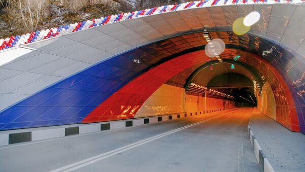 Рокский тоннель на Транскаме - Sputnik Южная Осетия