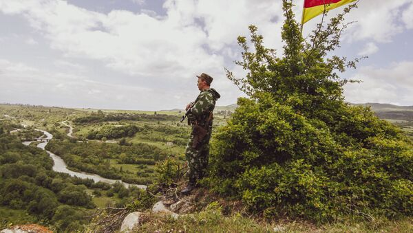 Российские пограничники на страже границ Южной Осетии - Sputnik Южная Осетия