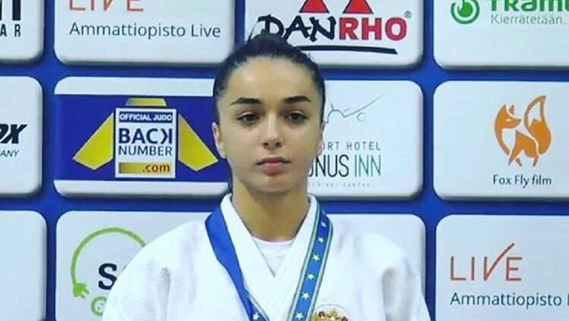 Ирэна Хубулова - победительница первенства Европы по дзюдо среди юниоров U-21 - Sputnik Южная Осетия, 1920, 07.10.2021
