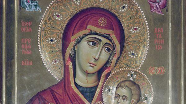 Репродукция иконы Иверской Божьей Матери - Sputnik Южная Осетия