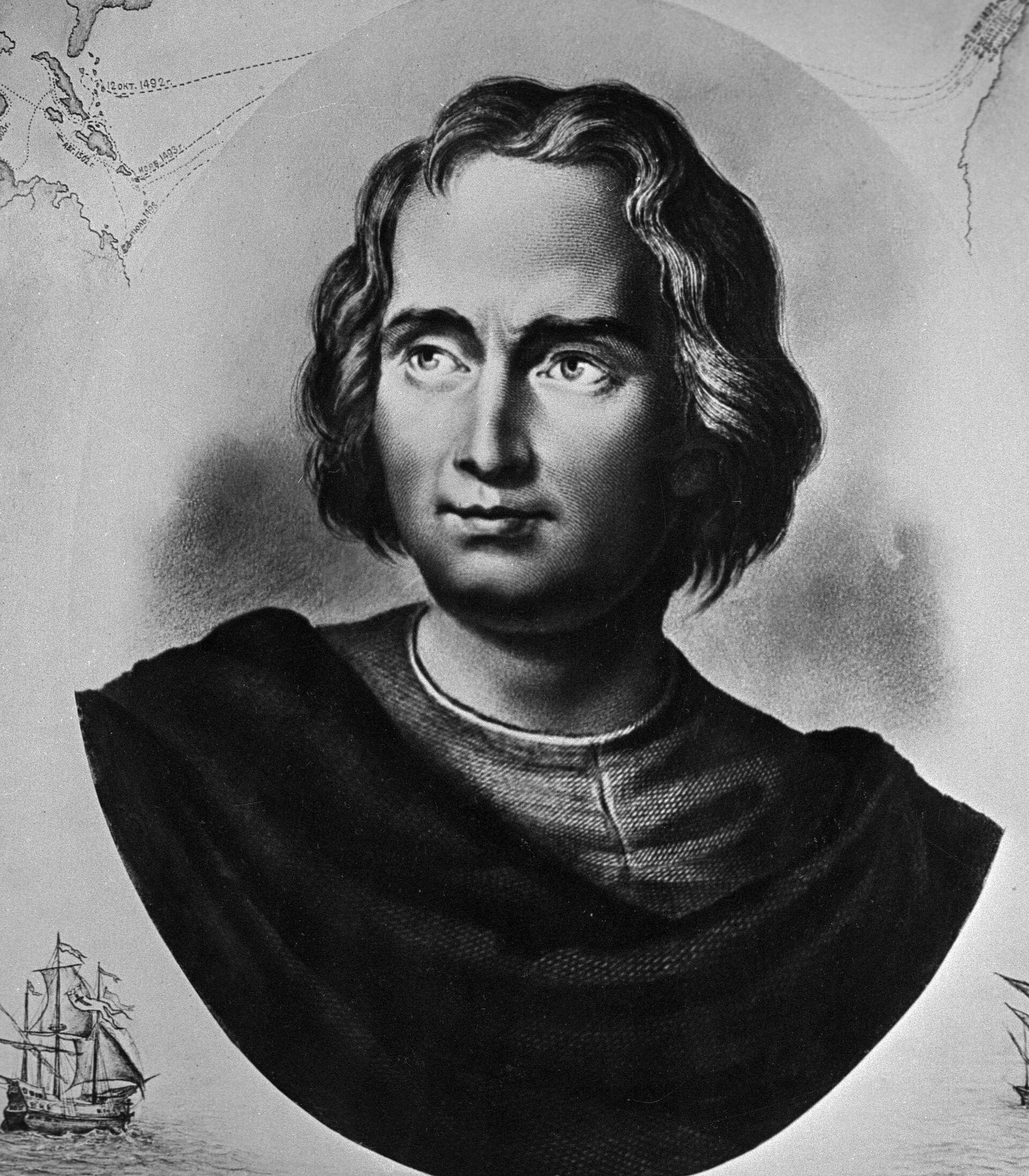 Мореплаватель Христофор Колумб (1446-1506) - испанский мореплаватель - Sputnik Южная Осетия, 1920, 26.10.2021