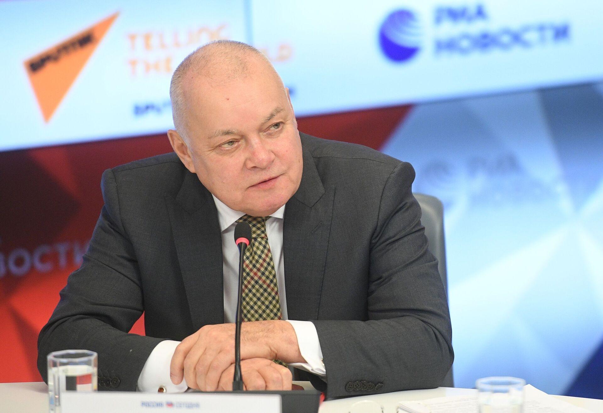 Генеральный директор МИА Россия сегодня Дмитрий Киселев - Sputnik Южная Осетия, 1920, 26.10.2021