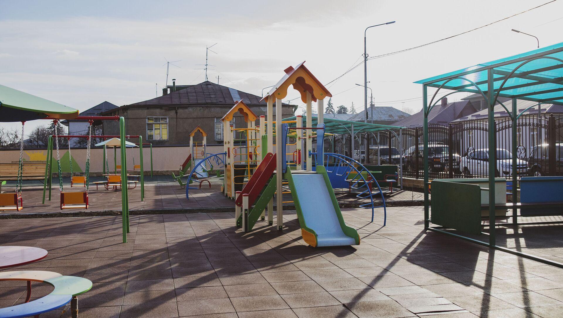 Новый детский сад  - Sputnik Южная Осетия, 1920, 30.09.2021